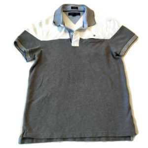 Tommy Hilfiger polo shirt s custom fit color block